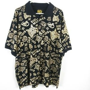 South Pole Authentic Collection Gold Polo